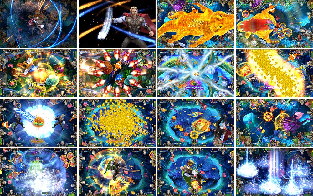 Ocean king 3-thor - Fishing Game Machine Fish GameTable Gambling