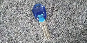 Key for lock of key in and key out