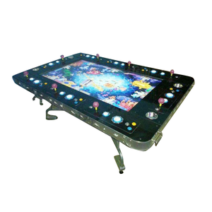 8 Players Folding Game Table